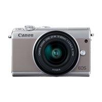 Cámara EVIL Canon EOS M100 Gris + EF-M 15-45 mm f3.5-6.3 IS STM Plata