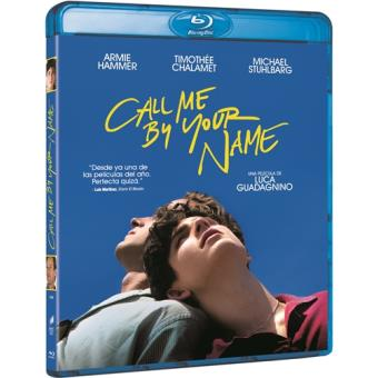 Call Me by Your Name (Llámame por tu nombre) - Blu-Ray