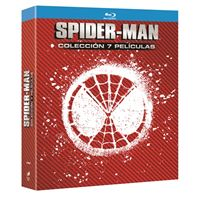 Pack Spiderman (7 Películas) - Blu-Ray
