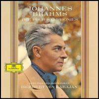Berliner Philharmoniker. Herbert Von Karajan. Johannes Brahms: The Four Symphonies - Vinilo