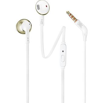 Auriculares JBL T205 Oro Champagne