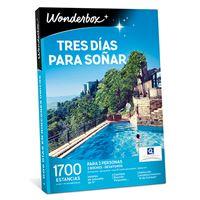 Wonderbox 2018 Tres días para soñar