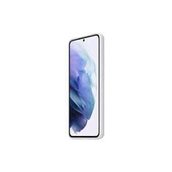 Funda de silicona Samsung Gris para Galaxy S21