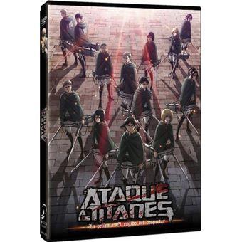 Ataque a los Titanes: El rugido del despertar - DVD