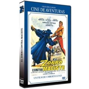 El zorro contra Maciste - DVD