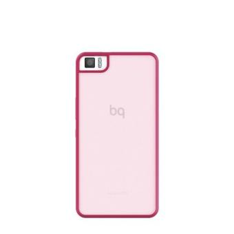 Funda Bq Gummy rosa para Aquaris M4.5