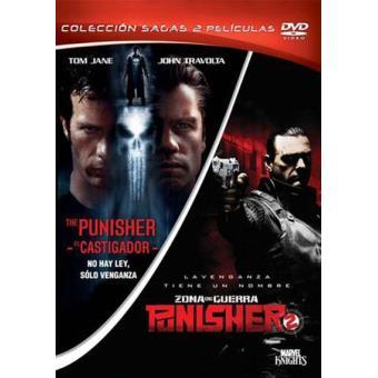 Pack Punisher (El Castigador) + The Punisher 2: Zona de guerra - DVD