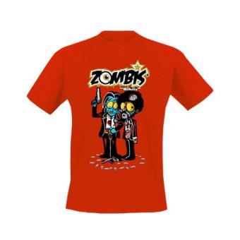 Camiseta Zombis Silver l