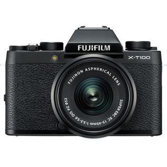 Cámara EVIL Fujifilm X-T100 Negro + 15-45 mm