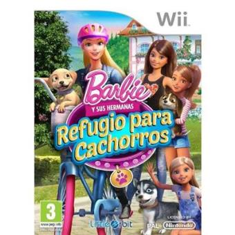 Barbie: Refugio para cachorros de Barbie y sus hermanas Wii