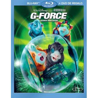 G-Force: Licencia para espiar - Blu-Ray + DVD