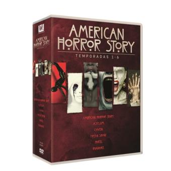American Horror Story - Temporada 1-6 - DVD