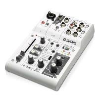 Mesa de mezclas Yamaha AG03 Interfaz de audio USB Blanco