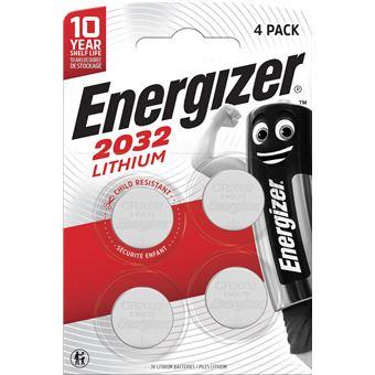 Energizer CR2032 3V Pack de pilas de litio