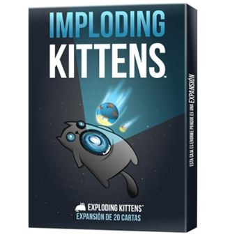 Imploding Kittens - expansión juego de cartas
