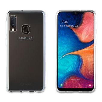 Funda Muvit Cristal Soft Transparente para Samsung Galaxy A20e