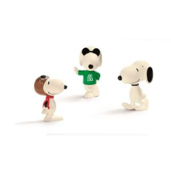 Snoopy. La pandilla (tres figuras)