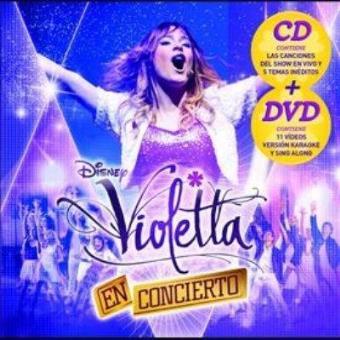 Violetta en concierto + DVD (B.S.O)