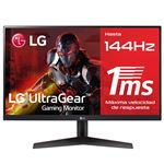 Monitor gaming LG 24GN600-B 24'' Full HD  144Hz