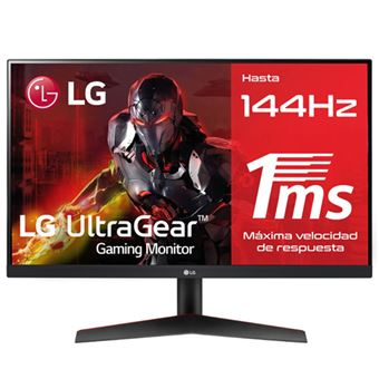 Monitor gaming LG 24GN600-B 24'' FHD 144Hz