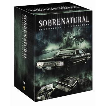 SobrenaturalPack Sobrenatural (Temporadas 1 a 4) - DVD