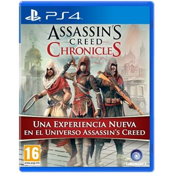 Pack Assassin's Creed Chronicles PS4