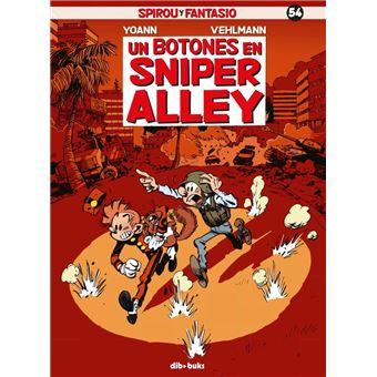 Spirou y Fantasio 54: Un botones en Sniper Alley