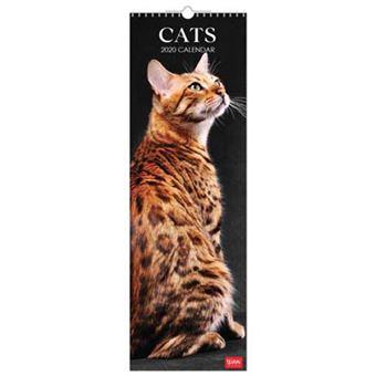 Calenadio 2020 Legami Cats - 16x49cm