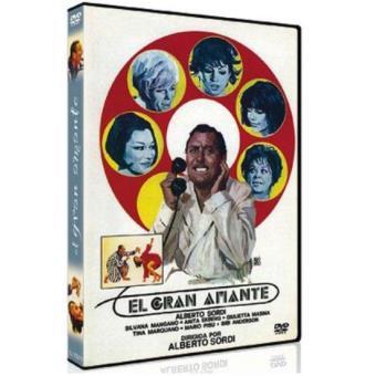 El gran amante - DVD
