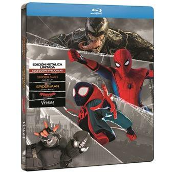 Spider-man Colección 4 películas - Steelbook Blu-Ray