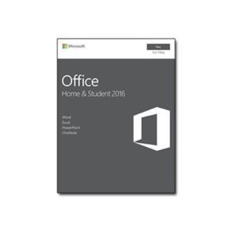 Microsoft Office Hogar y Estudiantes 2016 1 licencia Mac