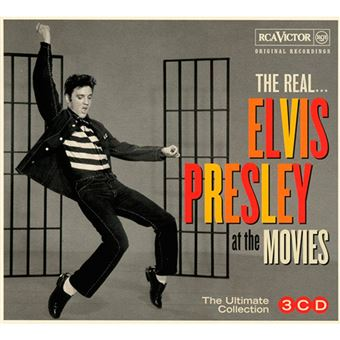 The Real…. Elvis Presley at the Movies B.S.O. - 3 CD