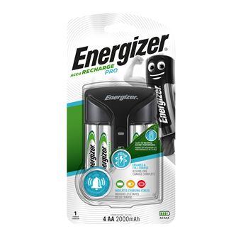 Energizer Cargador de pilas  Inteligent Pro-Charger AA/AAA 4 pilas