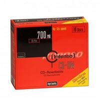 Pack Intenso 10 CD-RW 700MB 52x