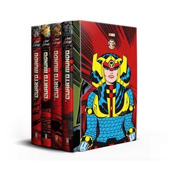 Pack El Cuarto Mundo de Jack Kirby