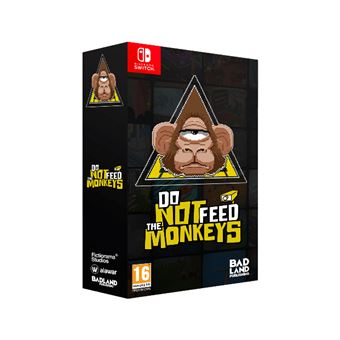 Do Not Feed The Monkeys: Collector's Edition Nintendo Switch