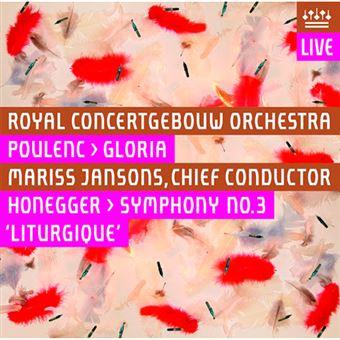 """Francis Poulenc & Arthur Honegger - Gloria / Sinfonía No. 3 """"Litúrgica"""""""