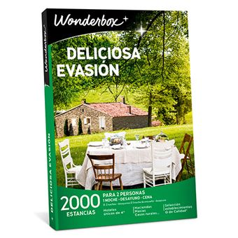 Caja Regalo Wonderbox - Deliciosa evasión