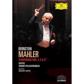 Mahler - Symphonies Nos. 4, 5 & 6 - DVD
