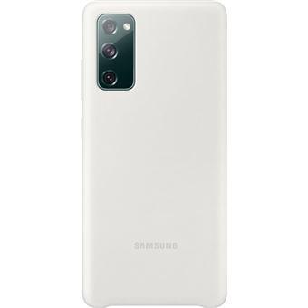 Funda de silicona Samsung Blanco para Galaxy S20 FE