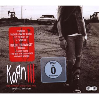 Korn III: Remember Who You Are - CD + DVD