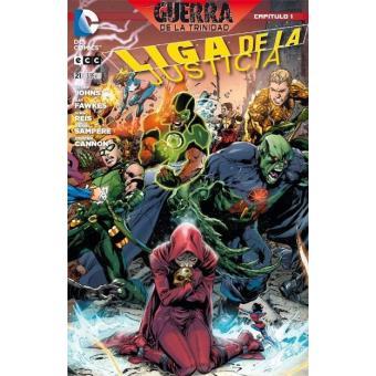 Liga de la Justicia 21. Guerra de la Trinidad 1. Nuevo Universo DC