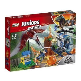 LEGO 4+ Jurassic World 10756 Huida del Pteranodon
