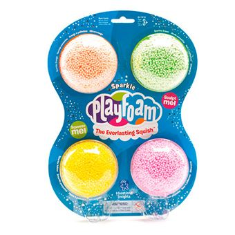 Pack Playfoam Purpurina 4 colores