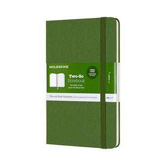Libreta Moleskine Two Go M verde
