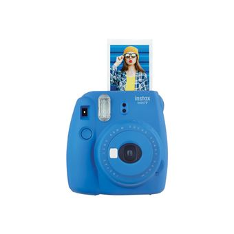 Cámara instantánea Fujifilm Instax Mini 9 Azul cobalto