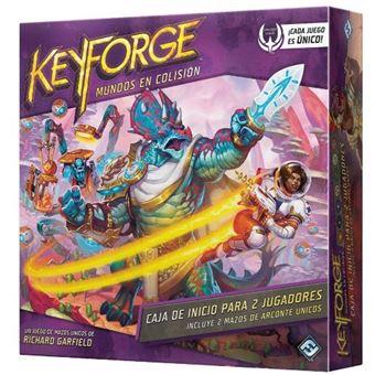 Keyforge - Mundos en Colisión Caja de Inicio para 2 Jugadores