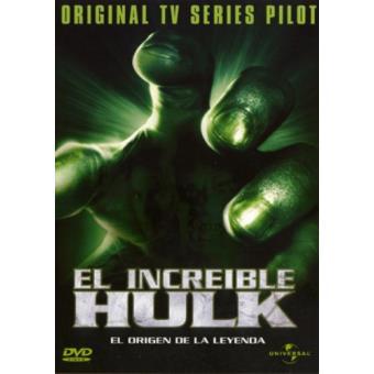 El increíble Hulk. El origen de la leyenda - DVD