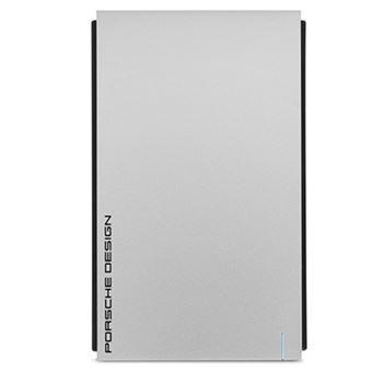 Disco duro portátil Lacie Porsche 2TB 2,5'' USB 3.0 Plata