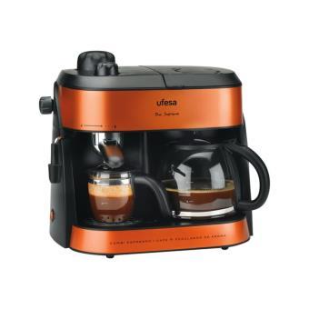 Cafetera Expresso con filtro Duo Supreme Ufesa